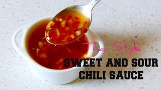 Sweet and Sour Sauce | Thai Style | Ramadan Recipes