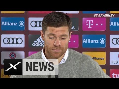 CL-Finale 2005? Xabi Alonso und Carlo Ancelotti zum Scherzen aufgelegt   FC Bayern München