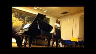 "Mezzo Soprano: Diamanti Kritsotaki, ""Stjärnan"" - Wilhelm Stenhammar"