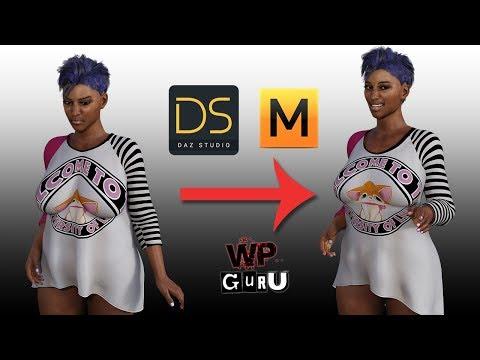 How to fit DAZ Clothing using Marvelous Designer