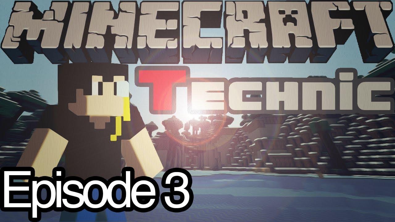 Minecraft Technic SSP Ep.3 - Cinnabar Island Ore - YouTube  Cinnabar