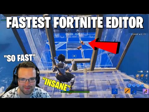 THE FASTEST FORTNITE EDITOR *Will Blow Your Mind*