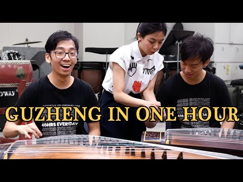 We Learnt the Guzheng in 1 hour