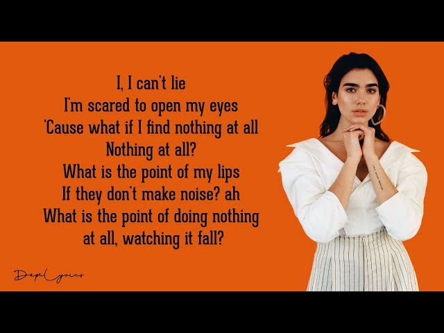 Dua Lipa - Swan Song (Lyrics) [From Alita: Battle Angel]