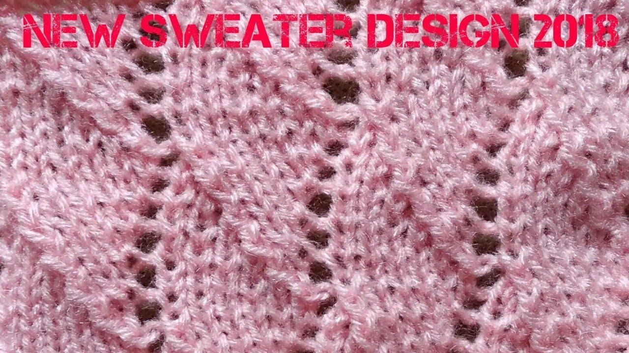 New Sweater Design 2018knitting Design For Ladies Sweater Cardigan