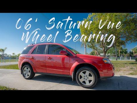 2006 Saturn Vue Wheel Bearing Replacement