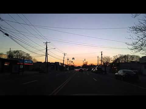Driving thru Oceanside,New York