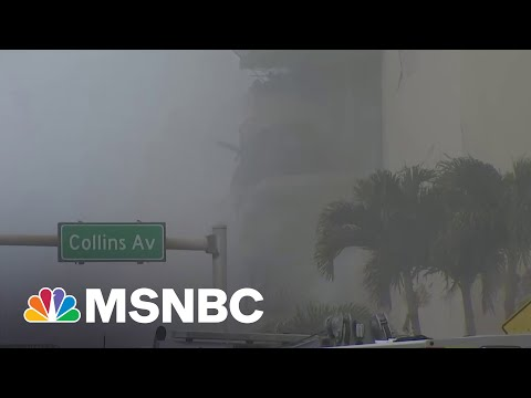 FL Condo Collapse Leaves Up To 99 People Unaccounted For, Police Say