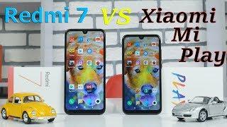 Xiaomi Redmi 7 vs Xiaomi Mi Play - ПОЛНОЕ СРАВНЕНИЕ НОВИНОК 2019