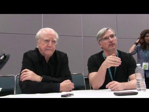 Damien  with Scott Wilson and Creator Glen Mazzara Part 1