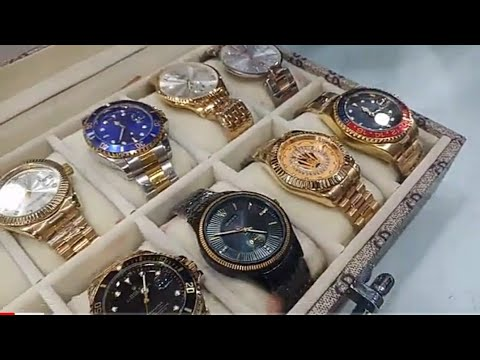First Copy Watches, Shades, Belts And Wallets | Prada Armani RayBan  | Fashion World Vlog Part 2
