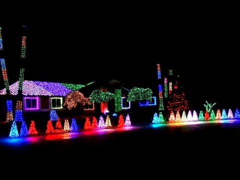 Marc Savard's 2013 Christmas Light Display!