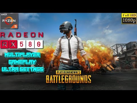 PLAYERUNKNOWN'S BATTLEGROUNDS PC Multiplayer Ultra Settings Gameplay - Ryzen 5 1400 + RX 580 4GB