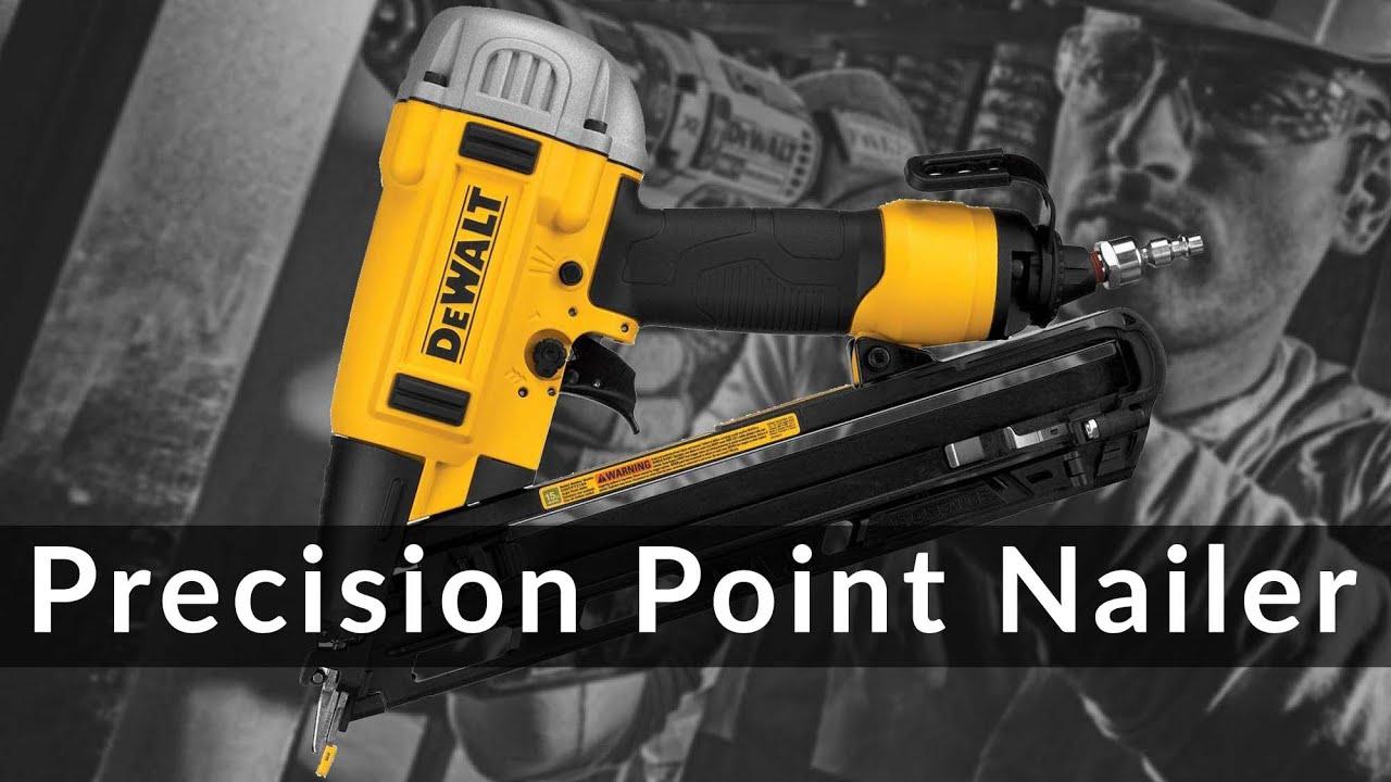 DeWalt Precision Point 15 GA Nailer - YouTube