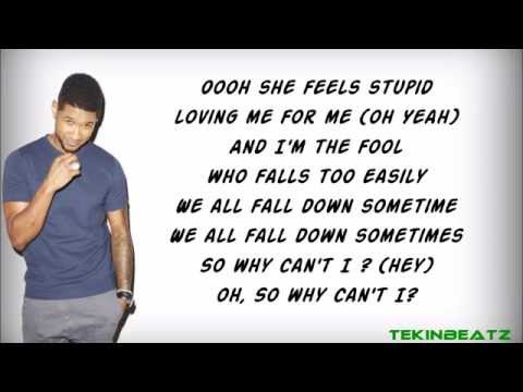 Usher ft.Chris Brown - All Falls Down (Lyrics) [HD/HQ]