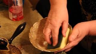 как очистить бронзовую посуду и медь