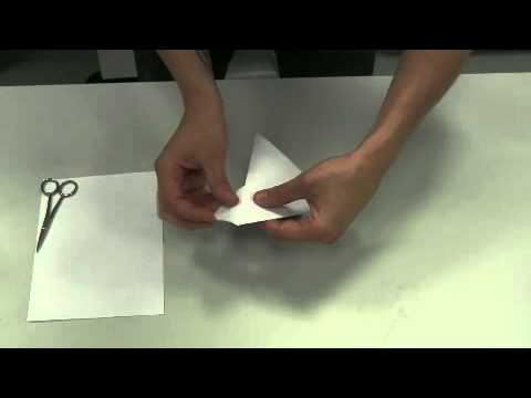 How to make a paper funnel