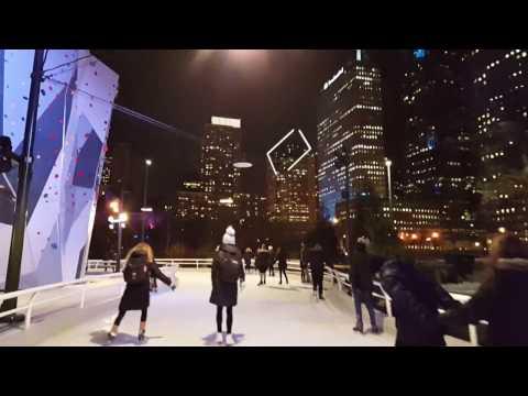 Ice Skating Around Chicago's Maggie Daley Skating Ribbon 2017