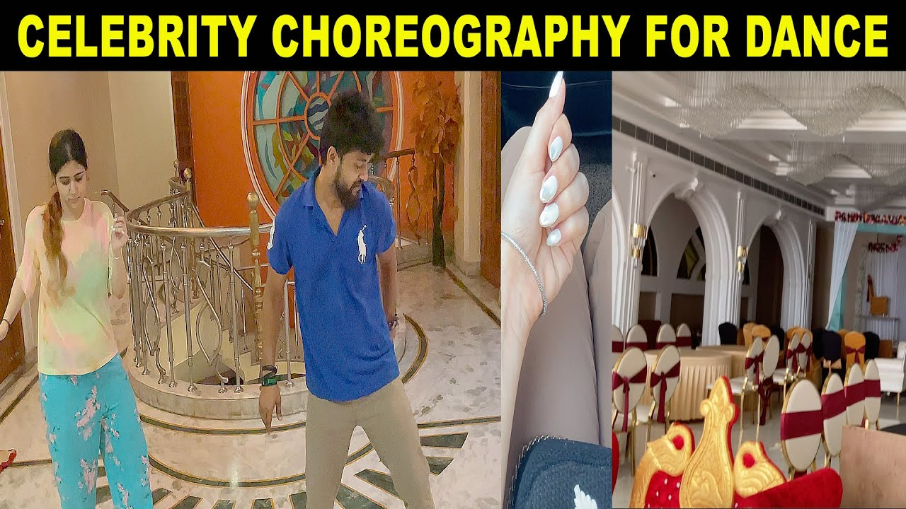 DANCE, VENUE, NAIL ART FOR THE MARRIAGE FUNCTION| NISHI