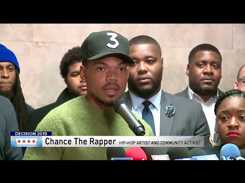 Chance the Rapper chooses sides in Chicago mayoral election