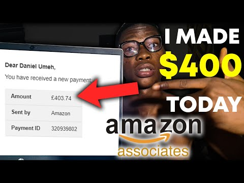 Get Paid $400 Today On Amazon Associates (Amazon Affiliate Marketing For Beginners Tutorial)…