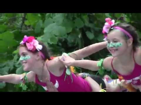 The Girl Circus at the 2016 Oregon Country Fair