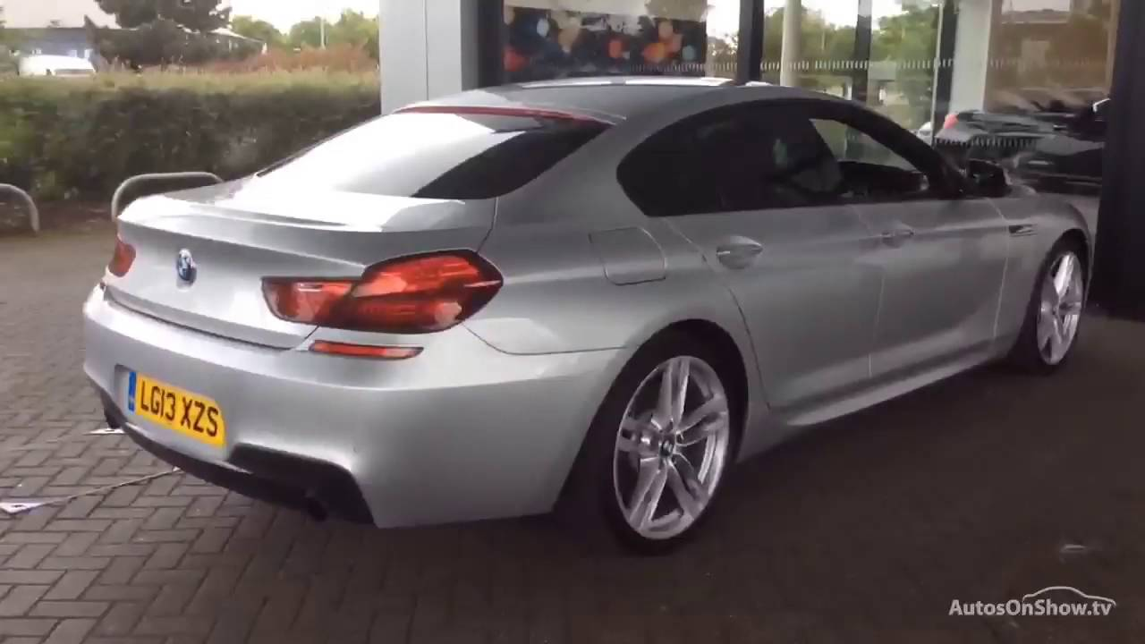 BMW Convertible bmw 6 series 2013 BMW 6 SERIES 640D M SPORT GRAN COUPE ALUMINIUM/SILVER 2013 - YouTube