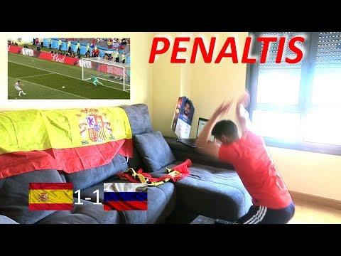 REACCIONANDO A LOS PENALTIS | ESPAÑA 1-1 RUSIA