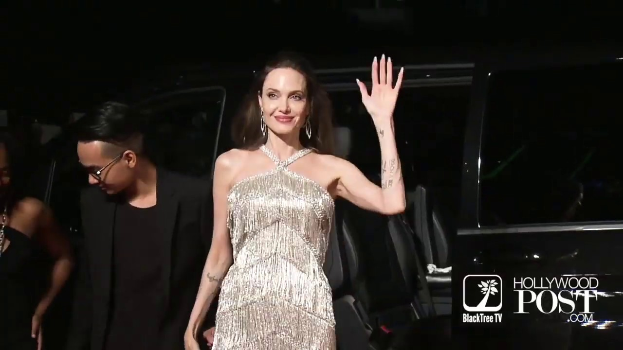 Angelina Jolie Tokyo Premiere Maleficent Mistress Of Evil