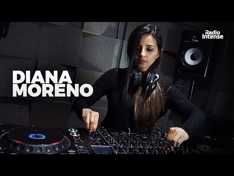 Diana Moreno - Live @ Radio Intense Barcelona 11.03.2020 // Melodic Techno Mix