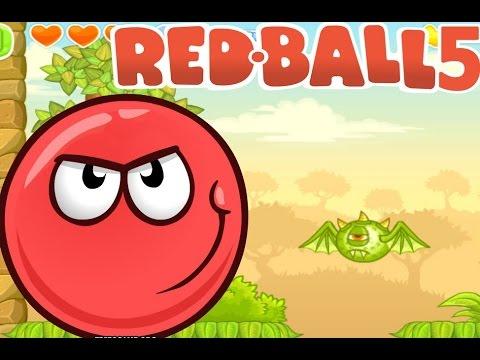 игры красный шар 5
