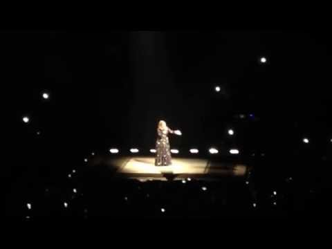 Adele Hello Opening Night Los Angeles, CA 25 Tour Staples Center