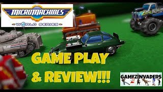 MICRO MACHINES: World Series! All Game Modes & Review! Xbox One/Ps4 Game!