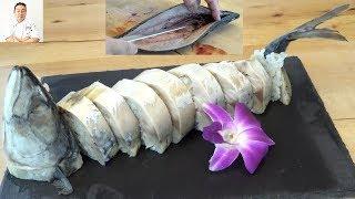 Saba Sugatazushi (Whole Mackeral Sushi) - How To Make Sushi Series