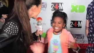 Trinitee Stokes at the Premiere of Disney XD