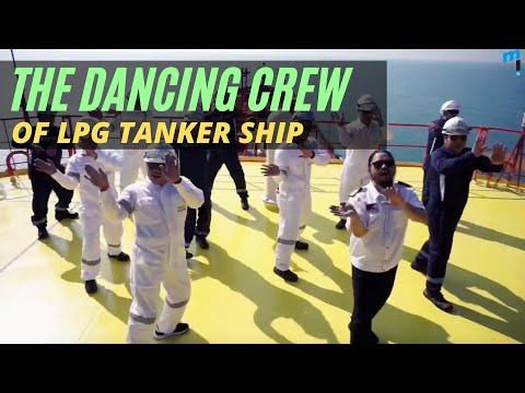 Sailor Dance - Ship's Crew Tribute to Essential Workforce
