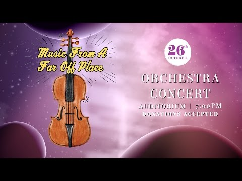 ACHS Orchestra Presents: Music From a Far Off Place