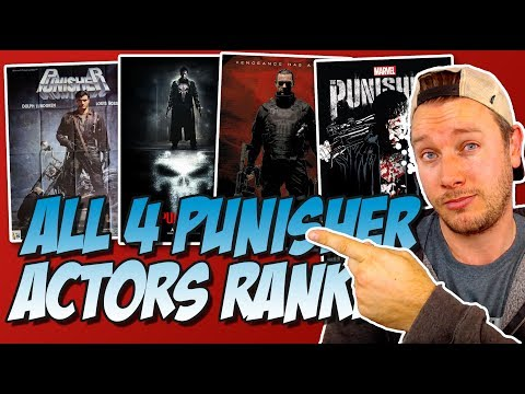 All 4 of The Punisher Actors Ranked Worst to Best (w/ Marvel's The Punisher Review)