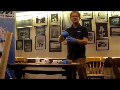 West System epoxy David Johnson how to create fillet joints