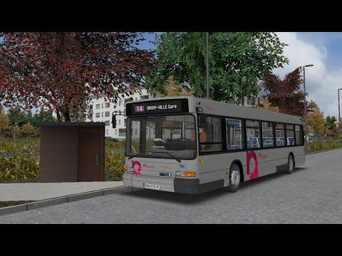 [OMSI 2] Grand Paris-Moulon | Transdev les Cars Moulon Heuliez GX317 Cursor 8 Voith | Route 14 |