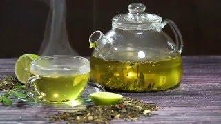 Зеленый чай с лаймом