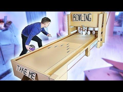 How to make bowling pins at home