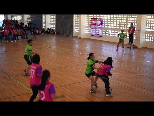 การแข่งขันกีฬาแชร์บอล (หญิง) ศึกษา B - สาธารณสุข A   20 มีนาคม 2562