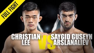 Christian Lee Vs. Dagi Arslanaliev  ONE Full Fight  October 2019