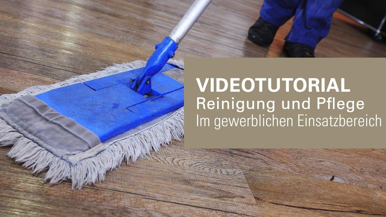 Vinyl Fußboden Reinigen ~ Reinigung und pflege von bodenbelägen im objektbereich youtube