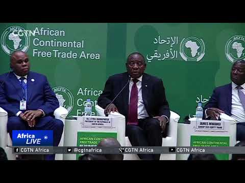 44 countries sign Africa Continental Free Trade Agreement