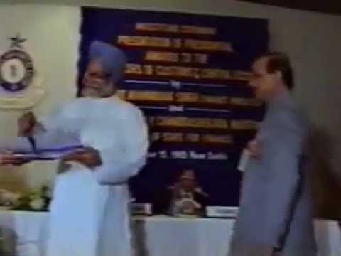Presentation of Presidential Awards to the Officers of Customs & Central Excise November 15, 1995