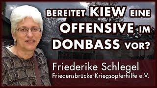 Am Telefon: Friederike Schlegel (Friedensbrücke e.V.) zur Lage im Donbass in der Ostukraine
