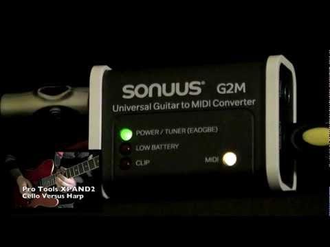 Sonuus G2M v.2 Guitar to MIDI converter review. Alessio Forlani