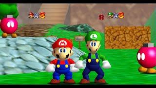 Super Mario 64 Multiplayer - GLITCHFEST 2 [TAS]